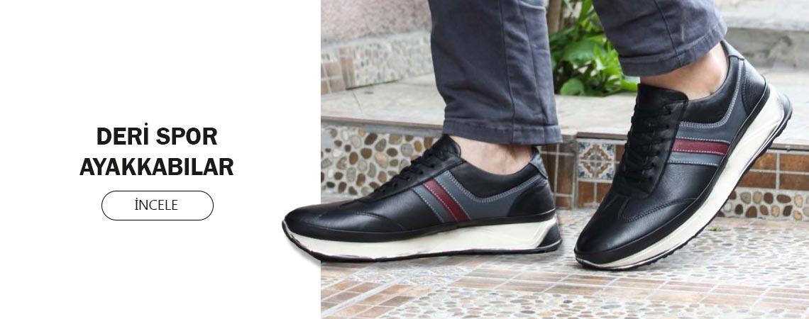 Deri Spor Ayakkabılar